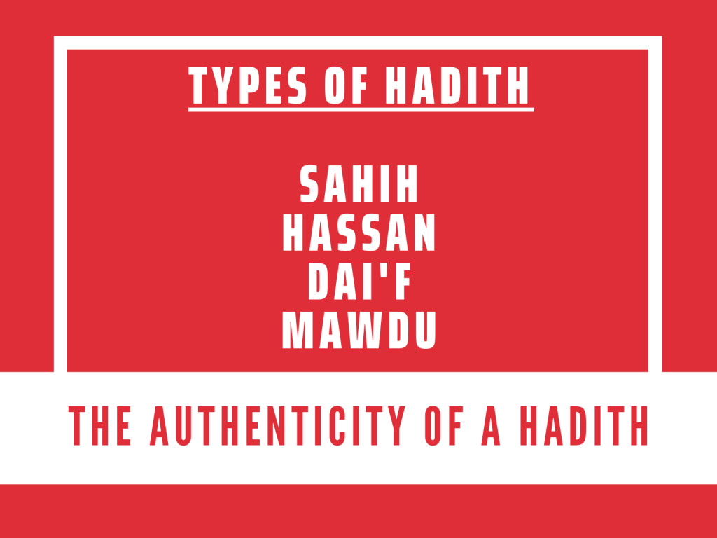 The Types of Hadith