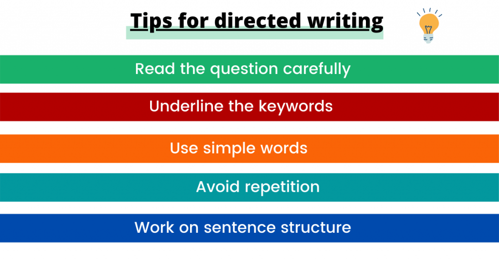 tips for account writing
