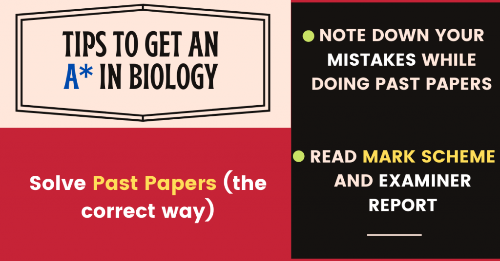 how to get an A* in IGCSE Biology