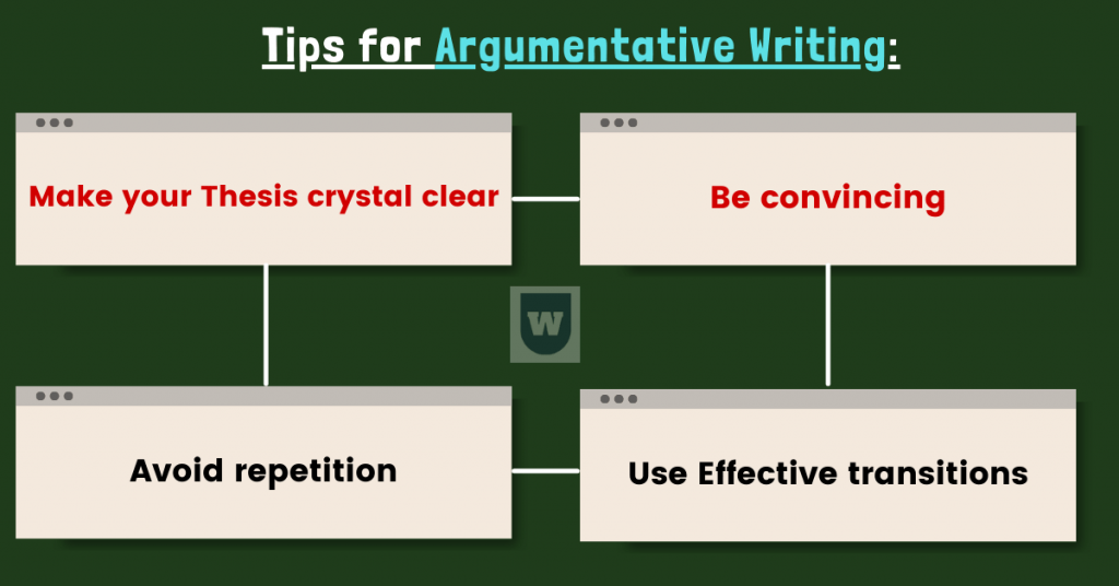 tips for argumentative writing